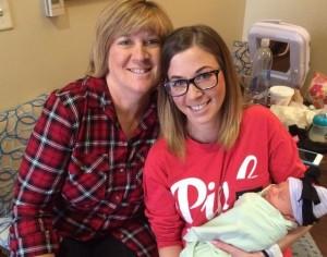 Nonna partorisce la nipotina in Texas
