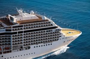 Cuba, nave da crociera all'Avana dopo 57 anni