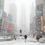 USA, maxi nevicata attesa sulla East Coast. New York e Washington si preparano alla tempesta di neve