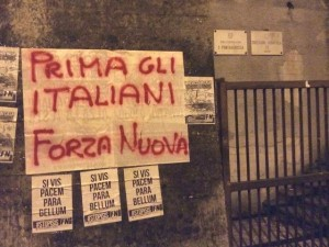 Proteste anti immigrati a Quezzi