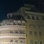 Roma – Crollano tre piani di un palazzo in via Lungotevere Flaminio