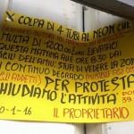 Genova, commerciante chiude bottega storica per protesta dopo una multa