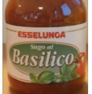 Sugo al basilico Esselunga