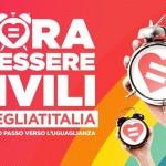 #SvegliatItalia, manifestazione a Genova per il decreto Cirinnà su unioni civili