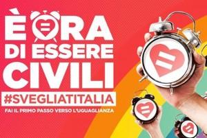Manifestazione pro matrimoni gay a Genova
