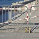 Genova, muro rischio crollo. Transenne per 30 metri