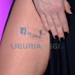 Sanremo 2016 – Belen e il nuovo tatuaggio per il Festival