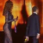 Sanremo 2016 – Madalina hot con l'abito trasparente