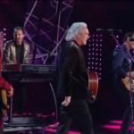 Sanremo 2016 – Pooh si riuniscono sul palco del Teatro Ariston