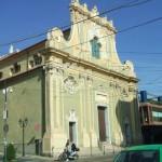 Sanremo, crollato cornicione della Chiesa degli Angeli, poco distante dall'Ariston
