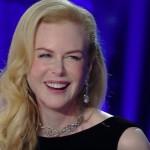 """Sanremo 2016 – Nicole Kidman strega l'Ariston. """"Le donne non si devono mai sentire sole"""""""