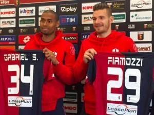 Genoa, presentati Fiamozzi e Gabriel Silva