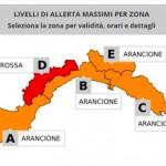"Allerta meteo Liguria, nelle valli Stura e Bormida allerta ""rossa"""