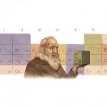 Il doodle di Google celebra Mendeleev e la tavola periodica degli elementi