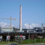 La Spezia, lavoratori della Oto Melara bloccano il traffico davanti allo stabilimento