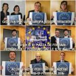 Genova – Flashmob in piazza De Ferrari per salvare Schengen