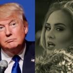 """Adele contro Donald Trump: """"Non usare la mia musica in campagna elettorale"""""""
