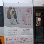 Autobus Vegan a Genova