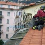 La Spezia – Interventi dei vigili del fuoco per il maltempo