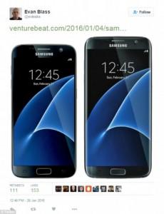 La presunta foto del nuovo Samsung