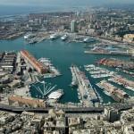 Genova – Vento forte, in porto si scontrano due traghetti