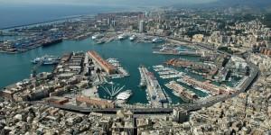Genova - Violento nubifragio con pioggia e vento forte