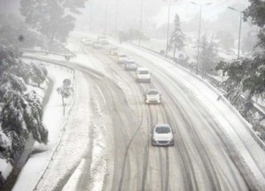Maltempo Liguria, bloccato casello autostradale di Altare
