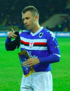 Sampdoria, lite a fine allenamento tra Cassano e Puggioni