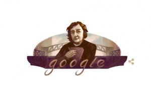 Il Doodle per celebrare Alda Merini