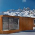 Biosphera 2.0, la casa del futuro testata a Courmayeur