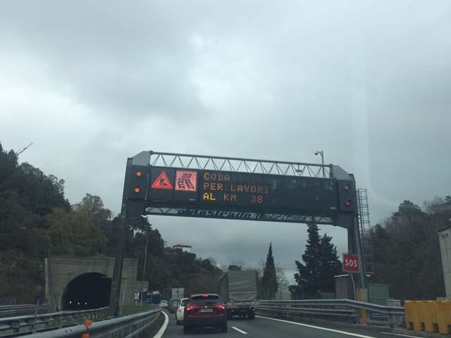 Code sulla A10 tra Albissola e Savona per lavori