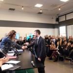 """""""Lauree in città"""", 10 gli studenti celebrati nella sala trasparente della Regione"""