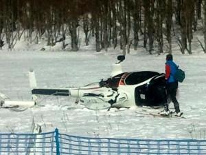 Denunciato pilota dell'elicottero caduto