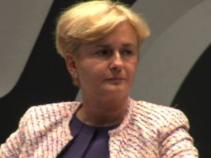 Federica Guidi si dimette da Ministro