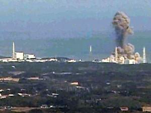 Esplosione del reattore a Fukushima