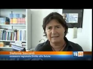 L'assessore alla salute della Regione Toscana Stefania Saccardi