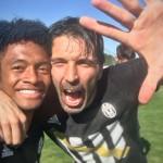 Calcio – Juventus campione d'Italia, la gioia dei calciatori sui social