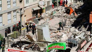 Tenerife, crolla palazzina di 4 piani