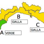 """Maltempo Liguria, allerta meteo """"gialla"""" a partire dalle 22"""