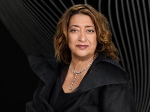 Zaha Hadid in uno scatto di Mary McCartney