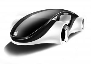Un'idea di come potrebbe apparire un'auto Apple