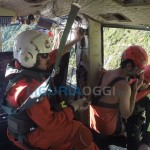 5 Terre, elicottero salva turisti bloccati sugli scogli