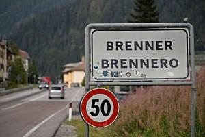 Austria progetta chiusura del Brennero