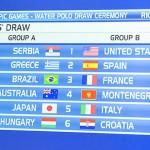 Pallanuoto – Sorteggiati i gironi Olimpici. Donne più fortunate dei maschi