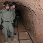 Scoperto tunnel della droga tra Messico e Usa