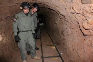 Tunnel della droga in Messico