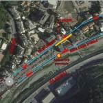 Molassana – Iniziano i lavori per rifare i marciapiedi