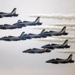 Frecce Tricolori al Loano Air Show questo pomeriggio