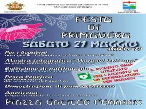 """Marassi, sabato 21 maggio la """"Festa di Primavera"""""""