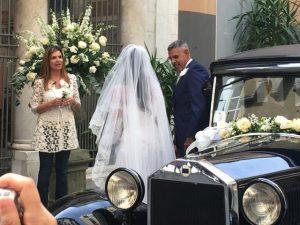 Toninho Cerezo a Genova per un matrimonio